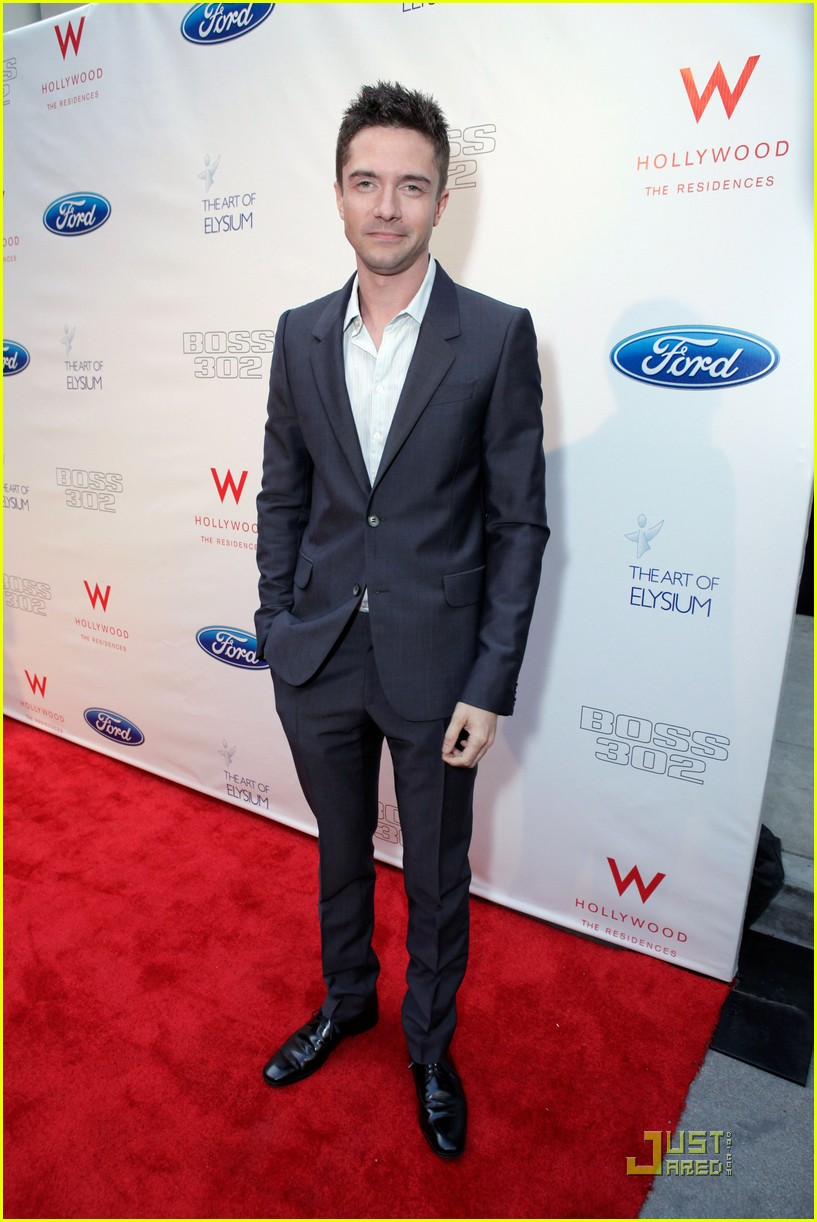... topher grace joe manganiello ford boss 02 | Photo 2551449 | Just Jared