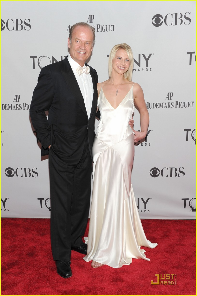 kelsey grammer kayte walsh tony awards 2011 01