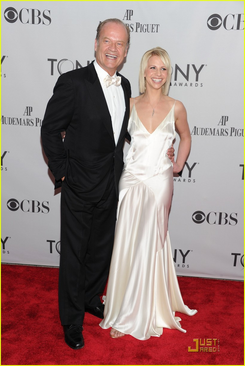 kelsey grammer kayte walsh tony awards 2011 03