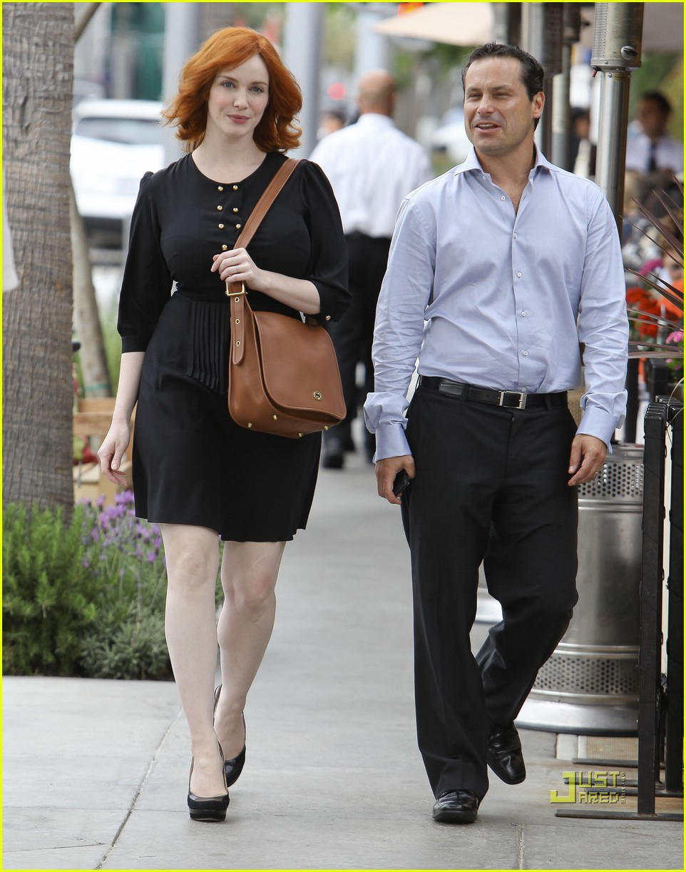 christina hendricks friend beverly hills 02