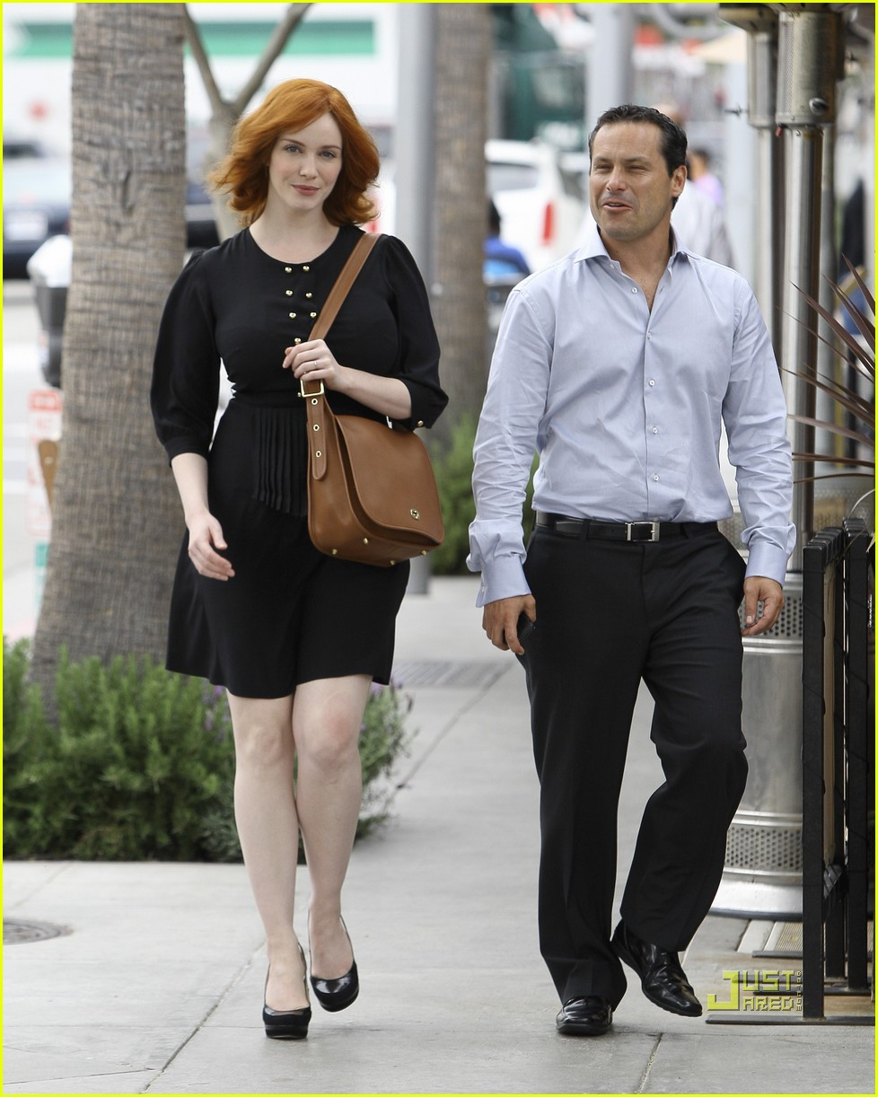 christina hendricks friend beverly hills 062552983