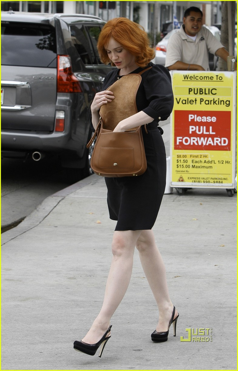 christina hendricks friend beverly hills 102552987