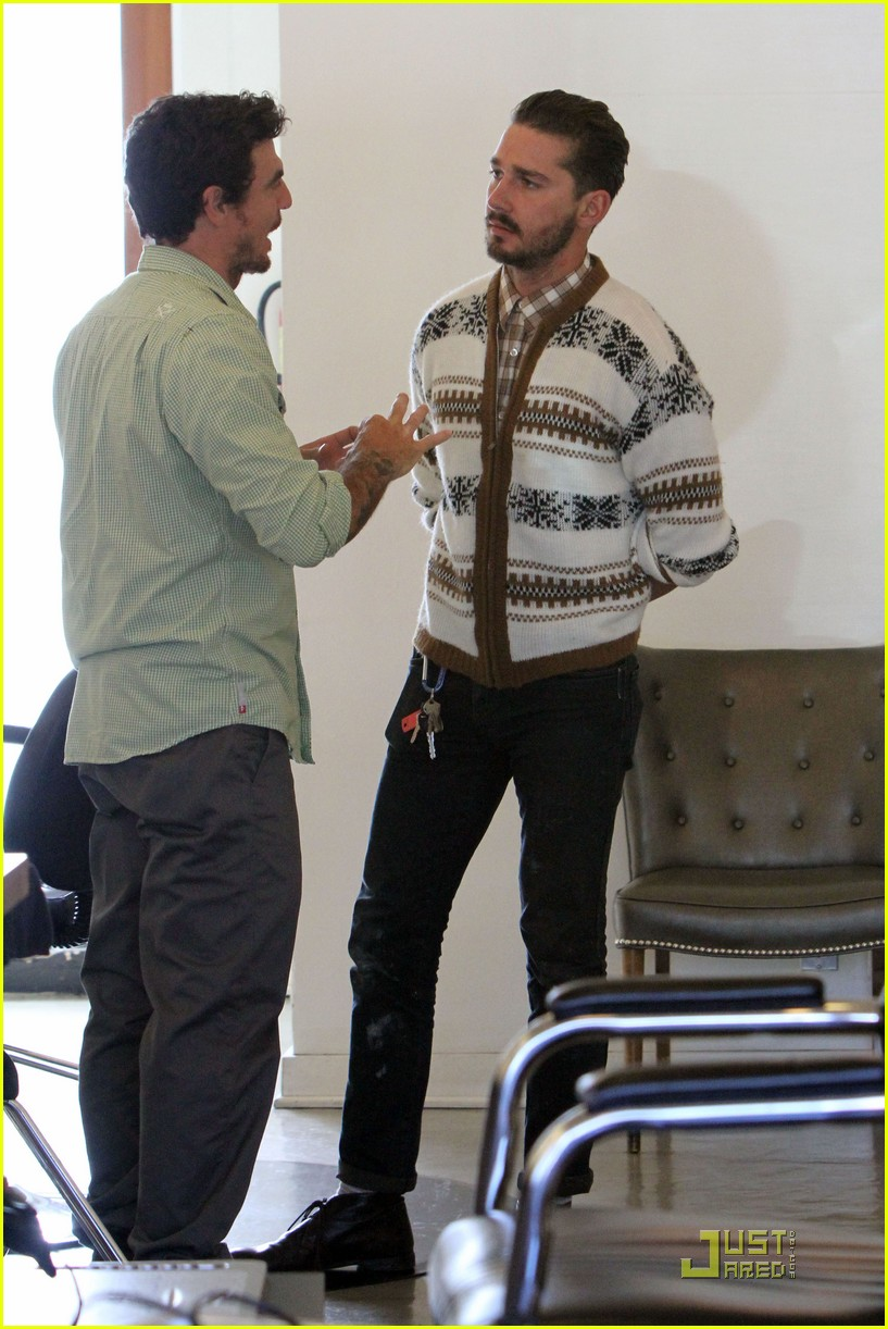 shia labeouf hair salon 08