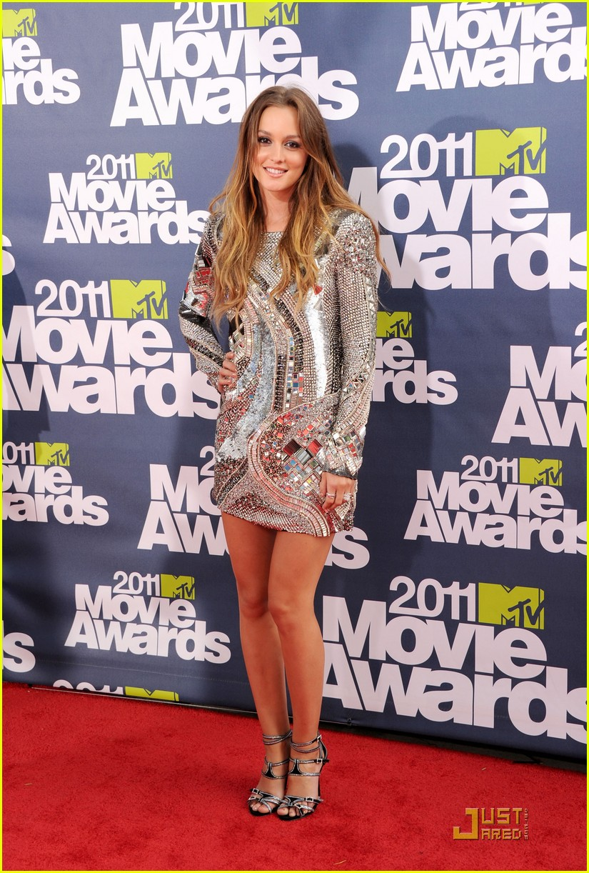 leighton meester mtv movie awards 2011 01