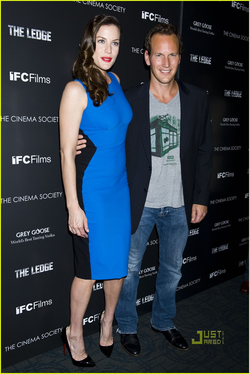 liv tyler patrick wilson ledge screening 16