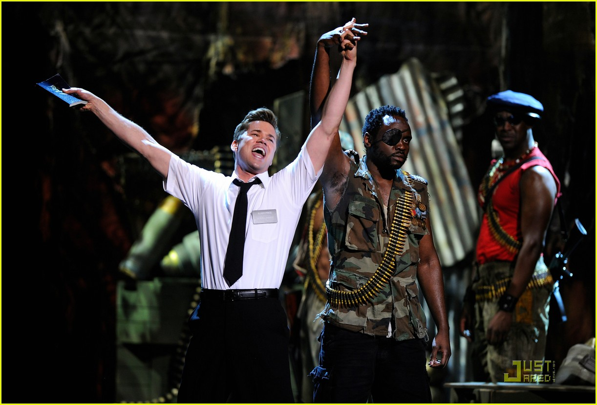 andrew rannells book of mormon performance at the tonys 02