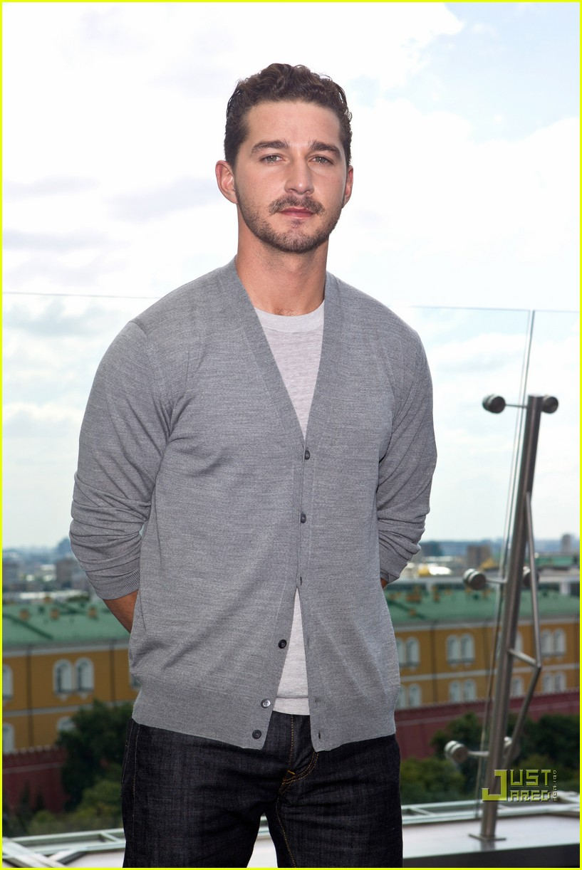 Rosie Huntington-Whiteley & Shia LaBeouf Take Transformers to Moscow! Shia Labeouf