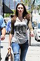 emmy rossum lunch with dj caruso 13