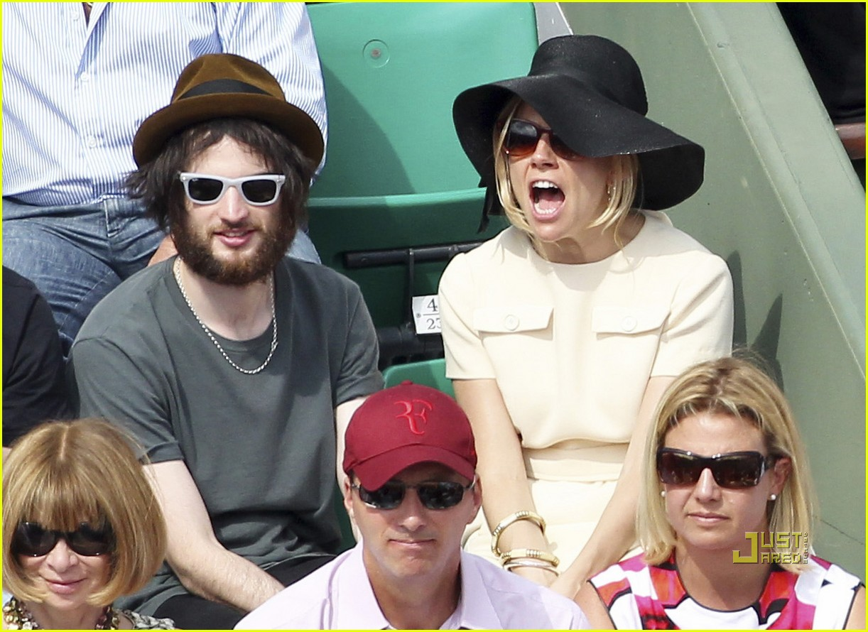 sienna miller tom sturridge french open 08