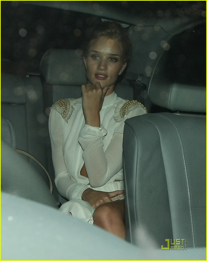 rosie huntington whiteley transformers premiere after party 04