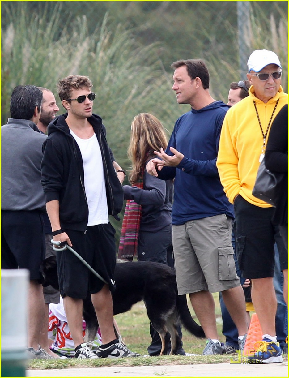 reese witherspoon deacons soccer game with ryan phillippe 062551642