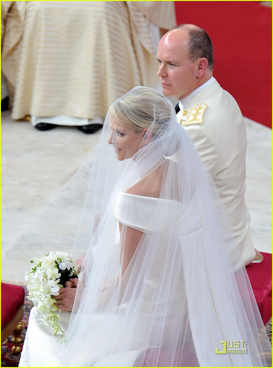 prince albert princess charlene royal wedding 17