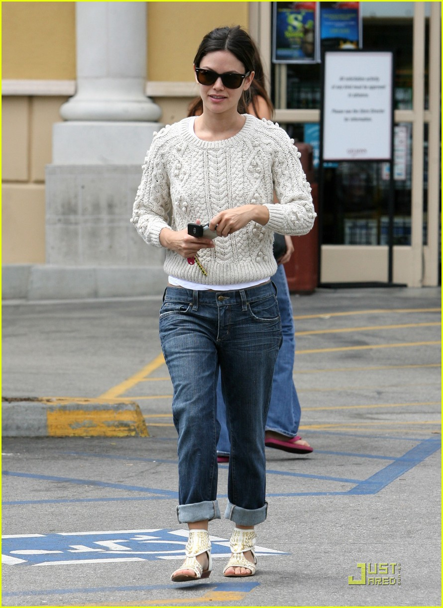 Full Sized Photo of rachel bilson gets groceries at ...