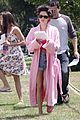 rachel bilson pink bathrobe daisy dukes to do list 03