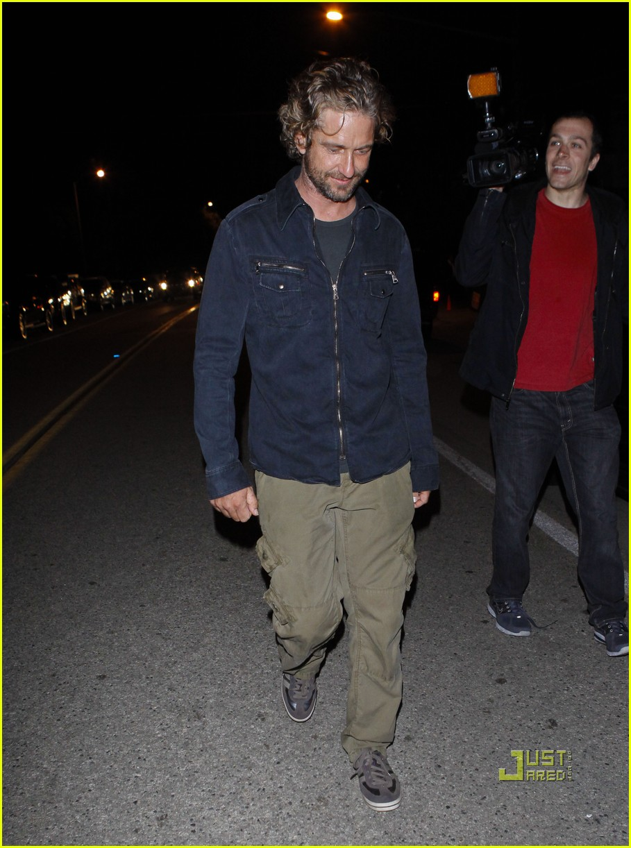 gerard butler leaving party malibu 01