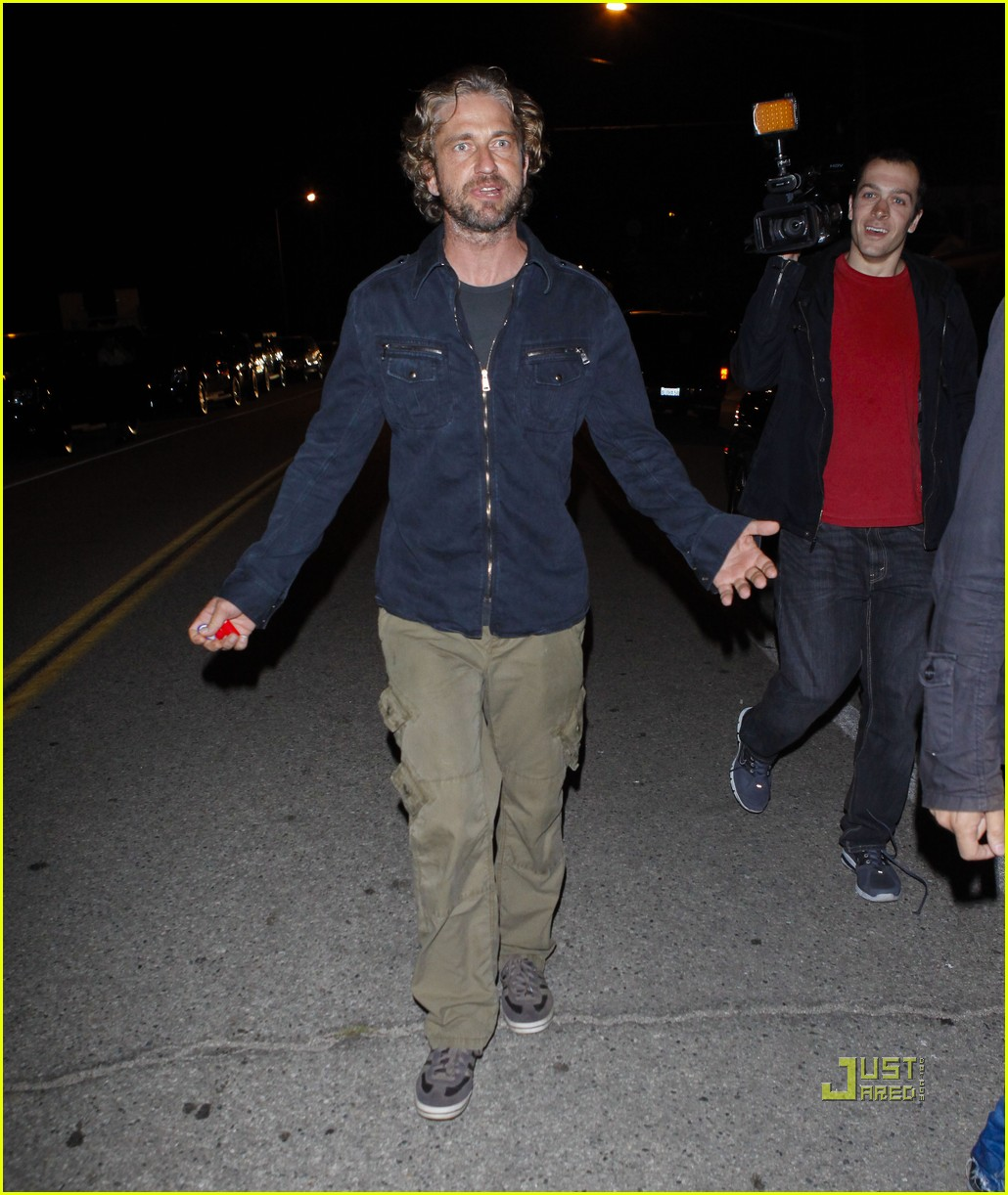 gerard butler leaving party malibu 04