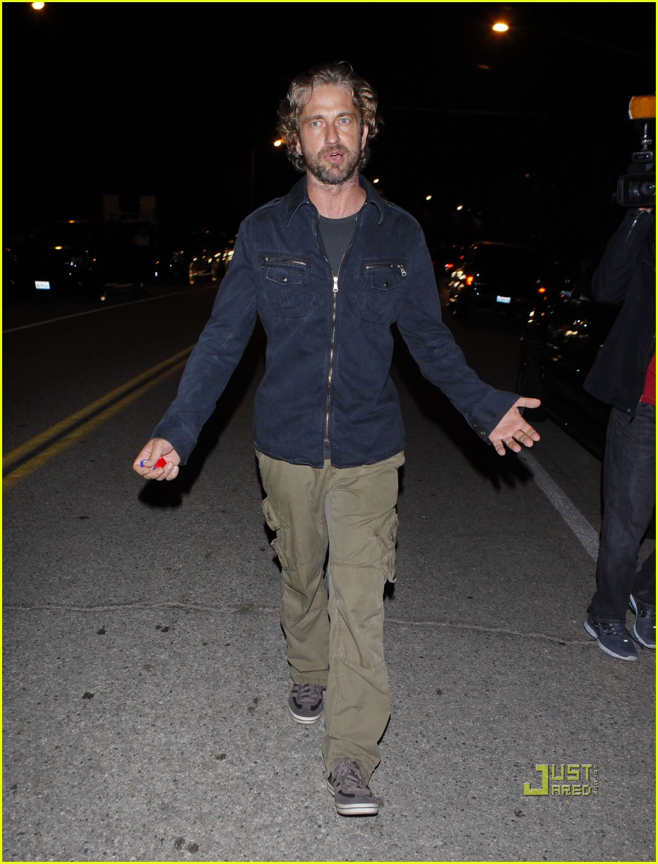 gerard butler leaving party malibu 06