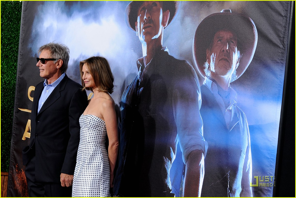 harrison ford calista premiere 012563306