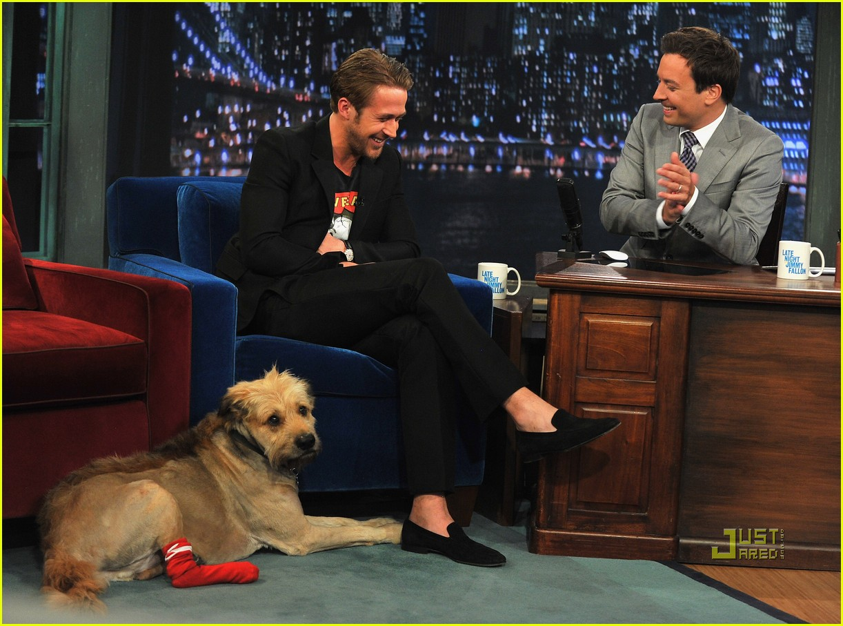 ryan gosling late night jimmy fallon 10