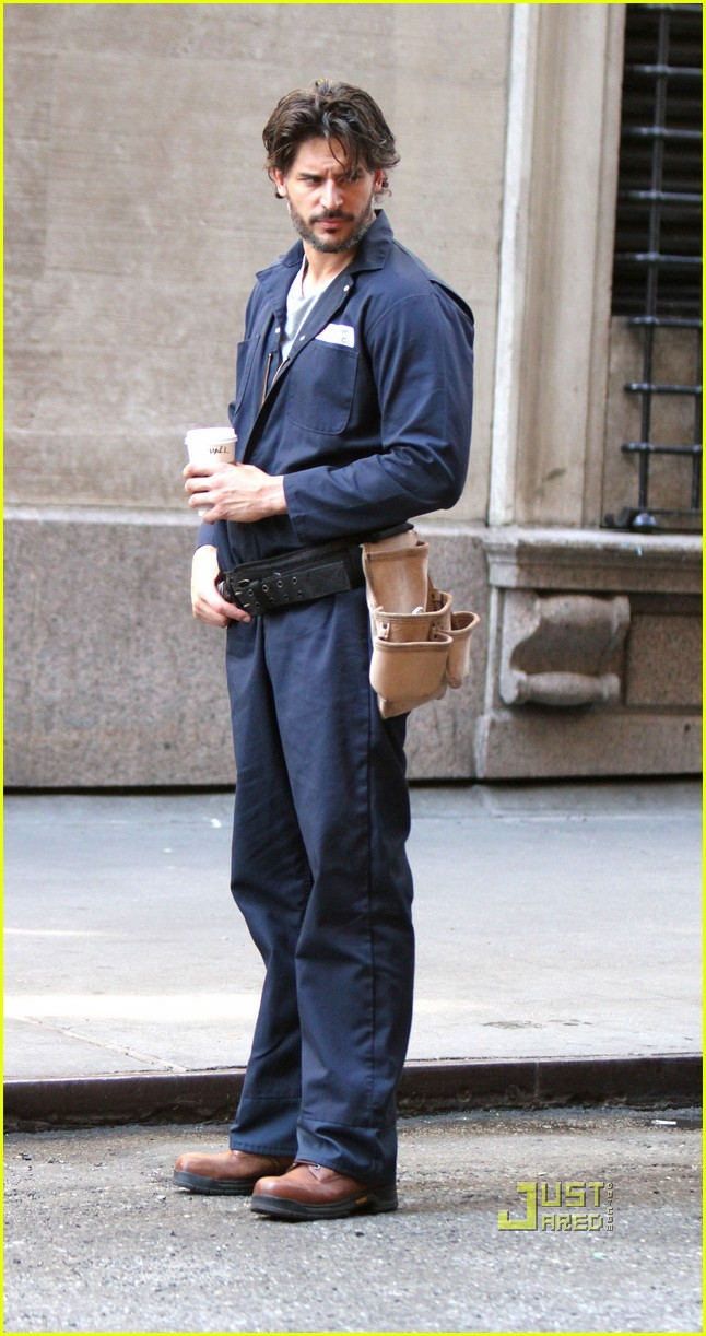 joe manganiello white collar set matt bomer 05