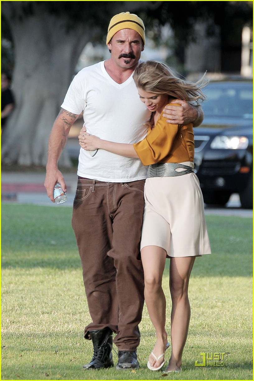 Dominic Purcell And Annalynne MccordDominic Purcell And Annalynne Mccord