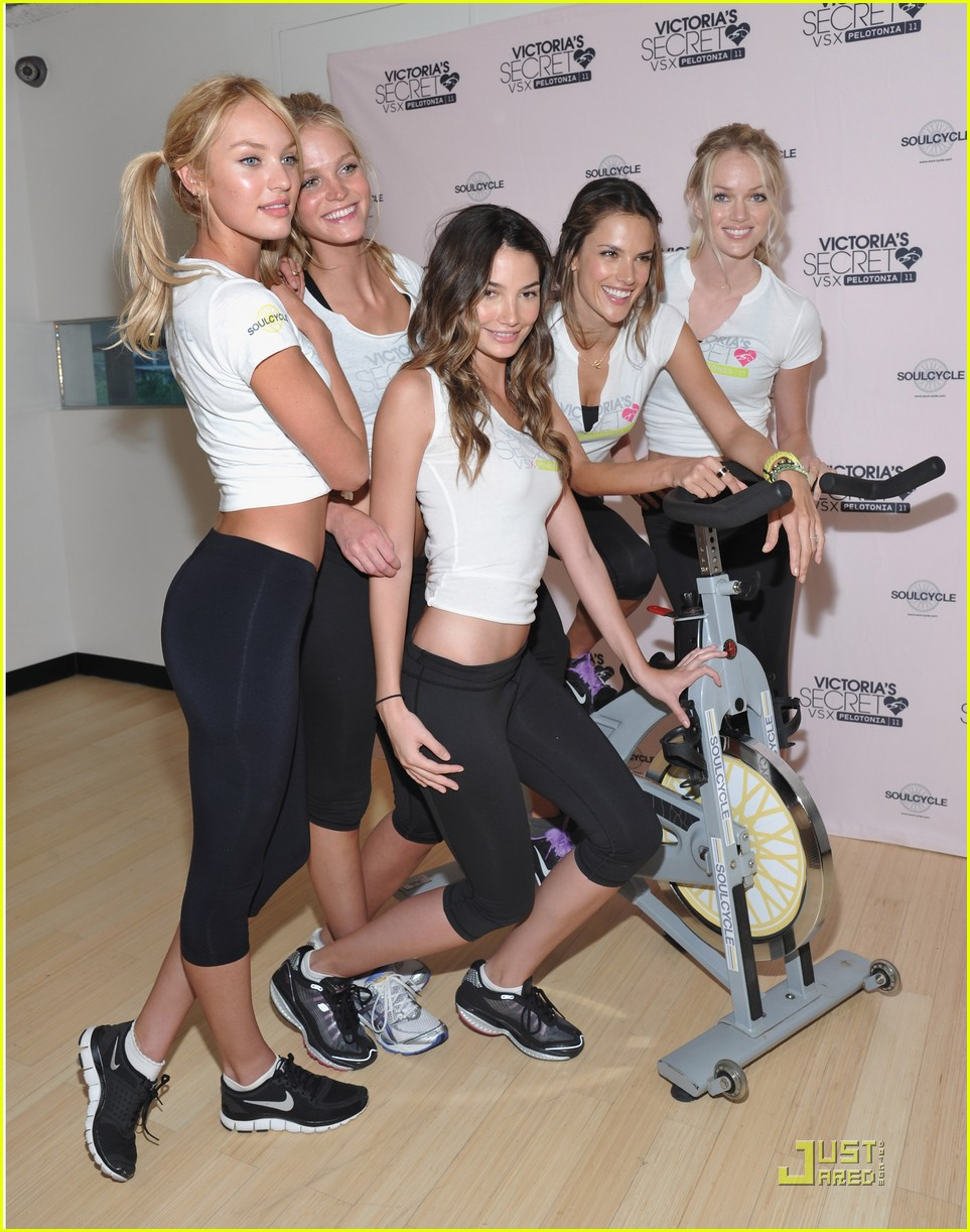 victorias secret soulcycle 16
