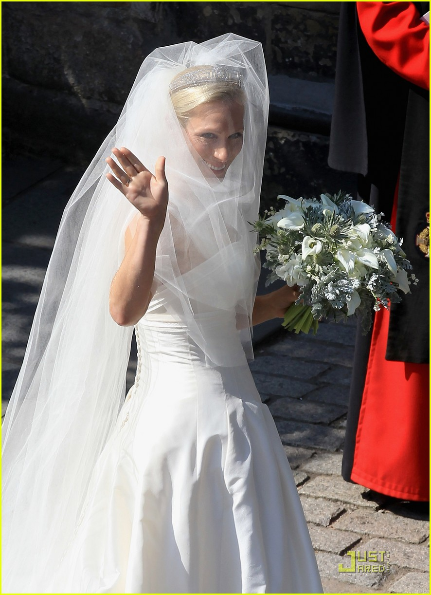 prince william kate zara phillips wedding 17