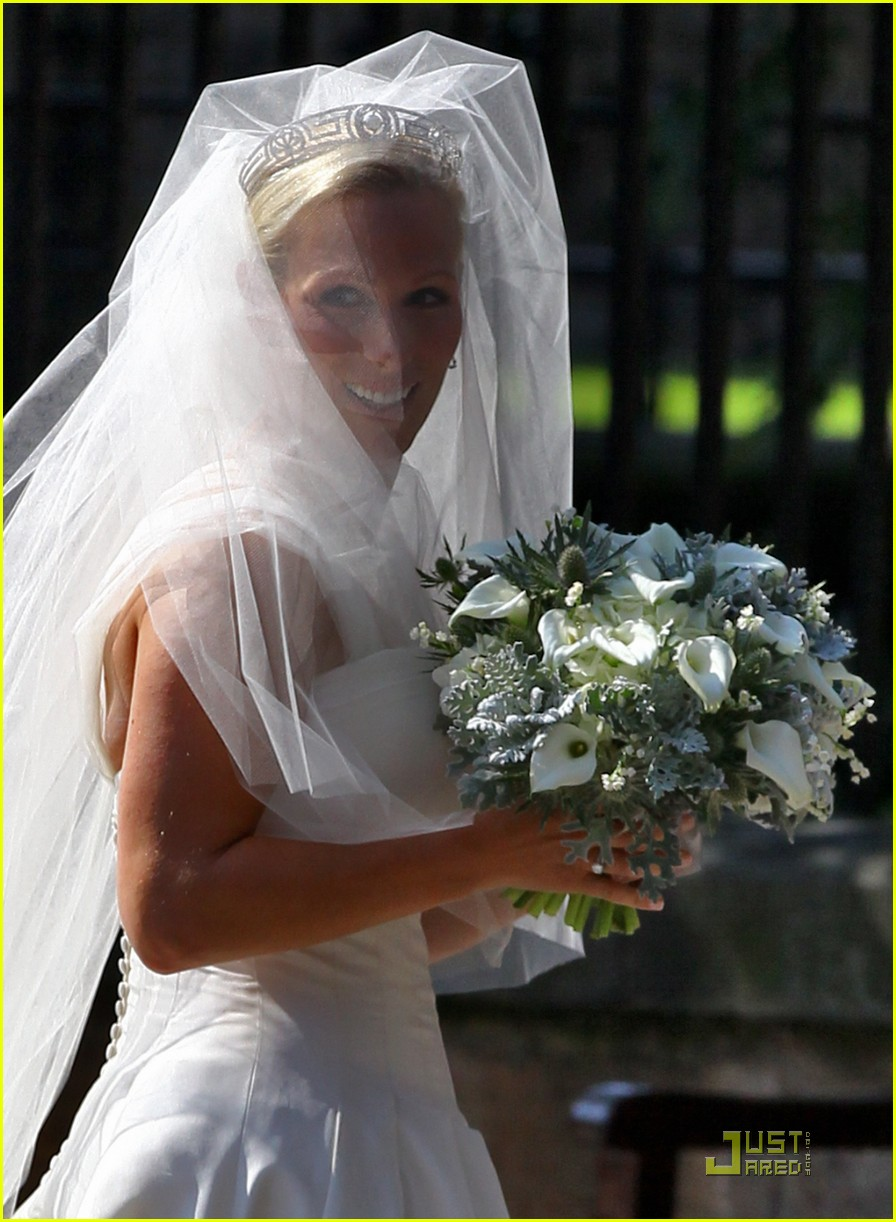 prince william kate zara phillips wedding 20