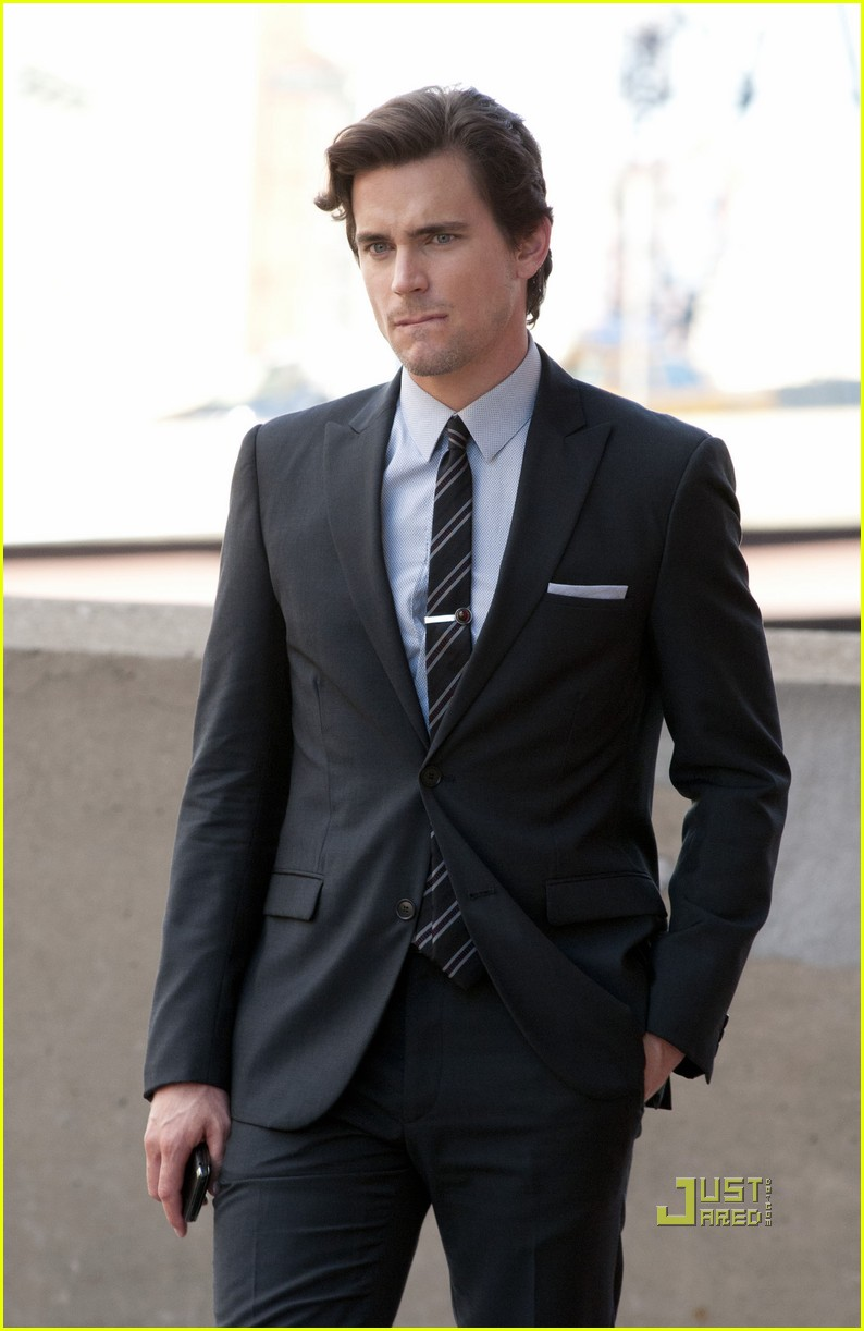 matt bomer suite white collar set 092572826