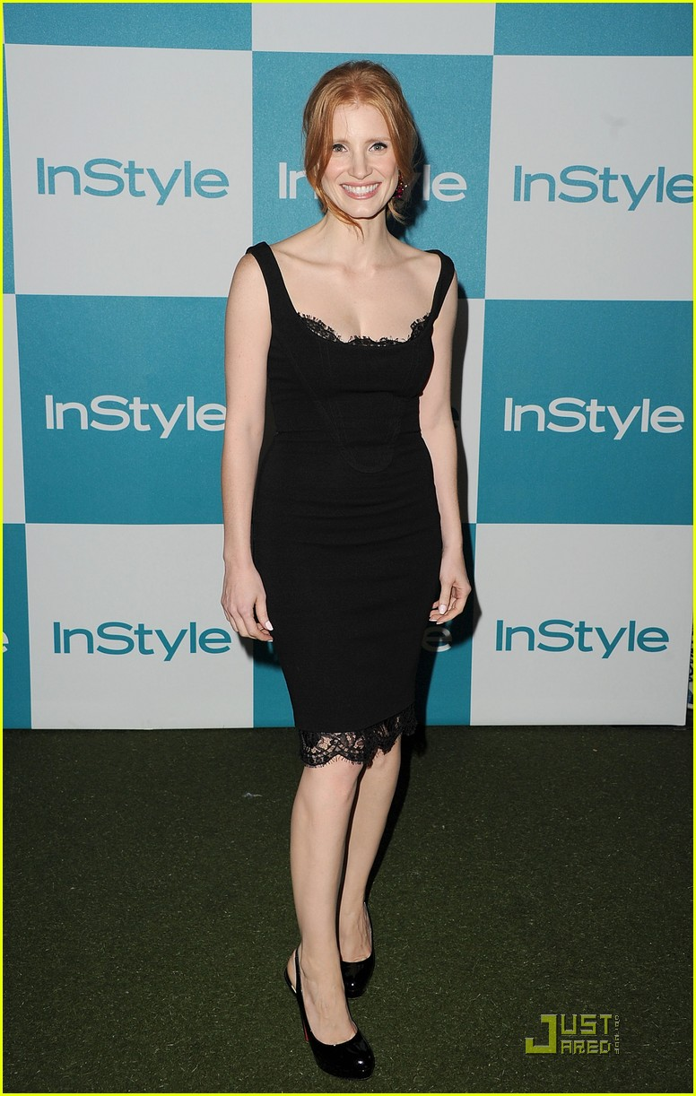 jessica chastain jennifer love hewitt instyle summer soiree 15
