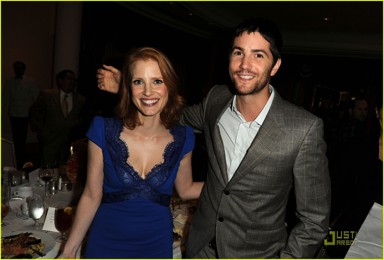 jessica chastain jim sturgess hfpa luncheon 08