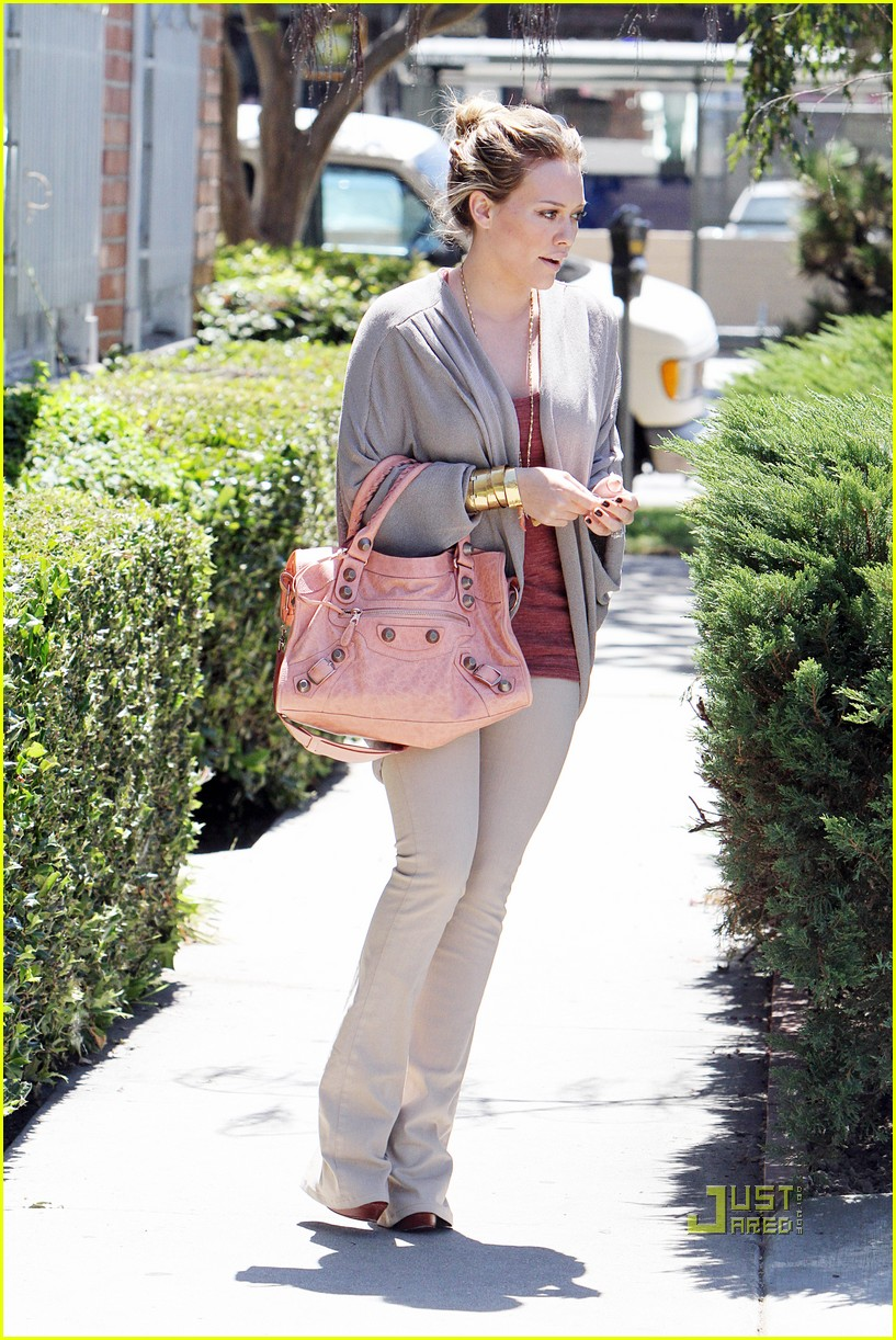 hilary duff doctor appointment 03