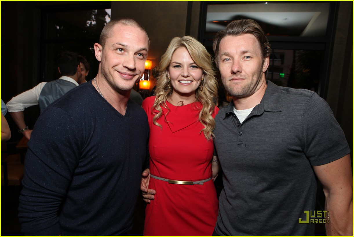 tom hardy warrior party with joel edgerton and jennifer morrison 03