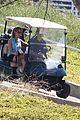 nick jonas delta goodrem go golfing 10