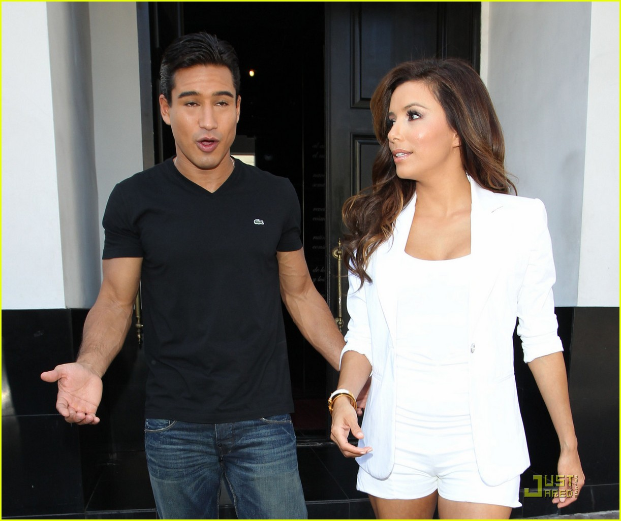 eva longoria beso shoot with mario lopez 02