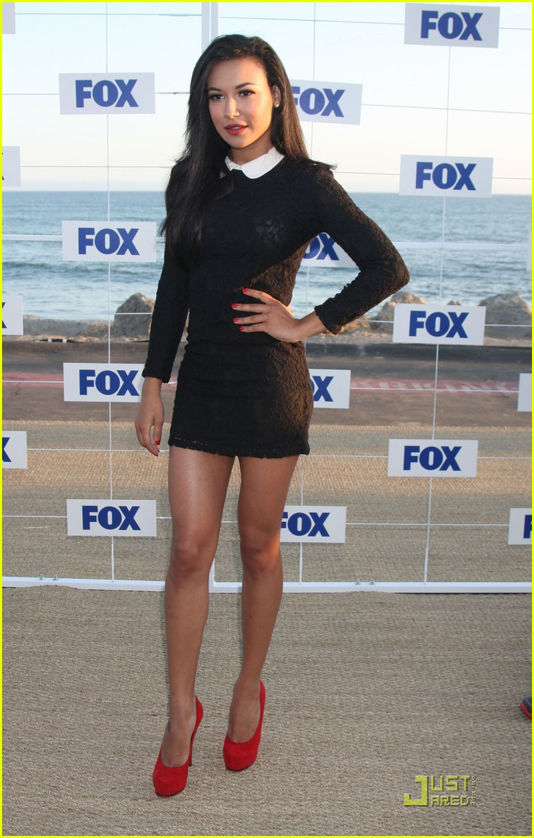 jayma mays heather morris fox allstar party 152567321