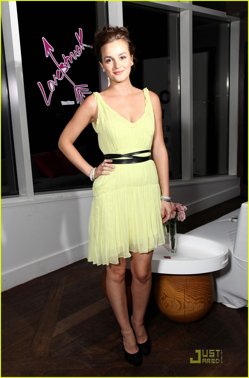leighton meester lovestruck launch event 09