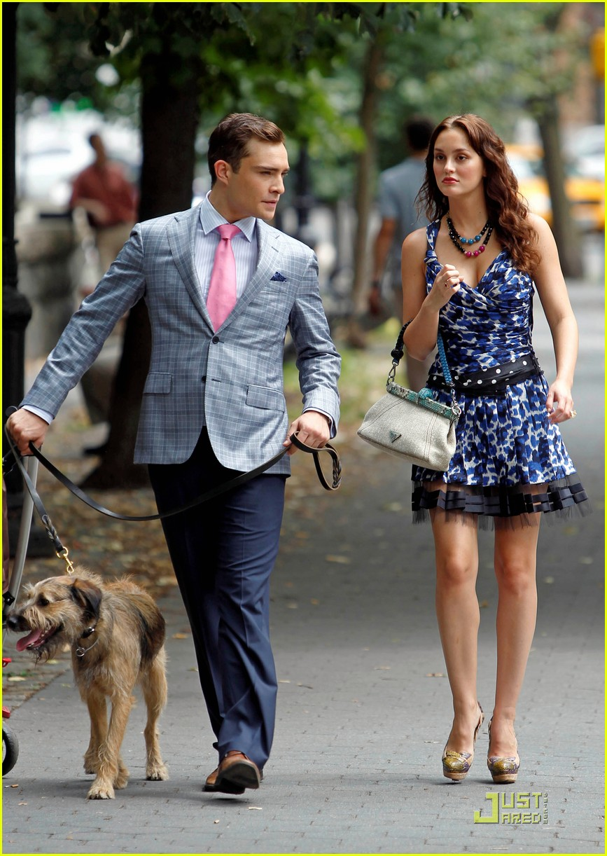 leighton meester ed westwick gossip girl west side 01