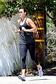 sean penn shirtless jogging with shannon costello 05