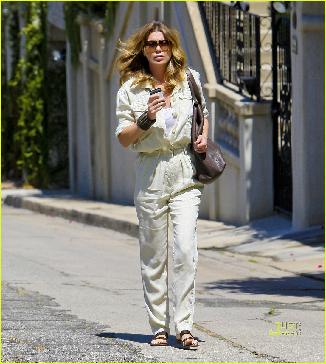 ellen pompeo jumpsuit out la 05