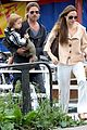 angelina jolie brad pitt knox vivienne puppet show 05