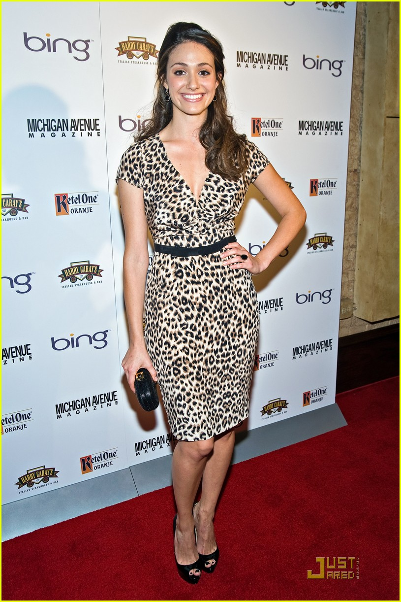 emmy rossum michigan avenue magazine party 05