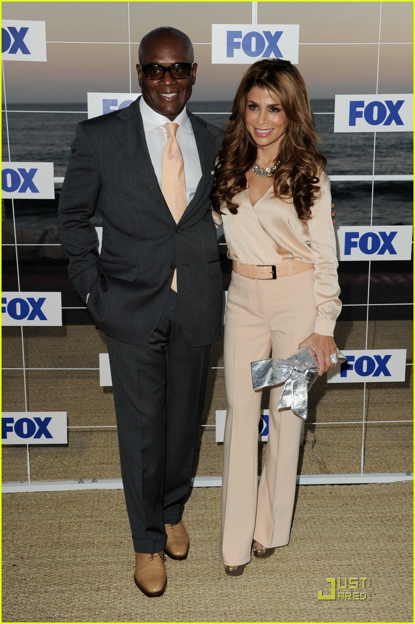 nicole scherzinger paula abdul x factor at fox party 03