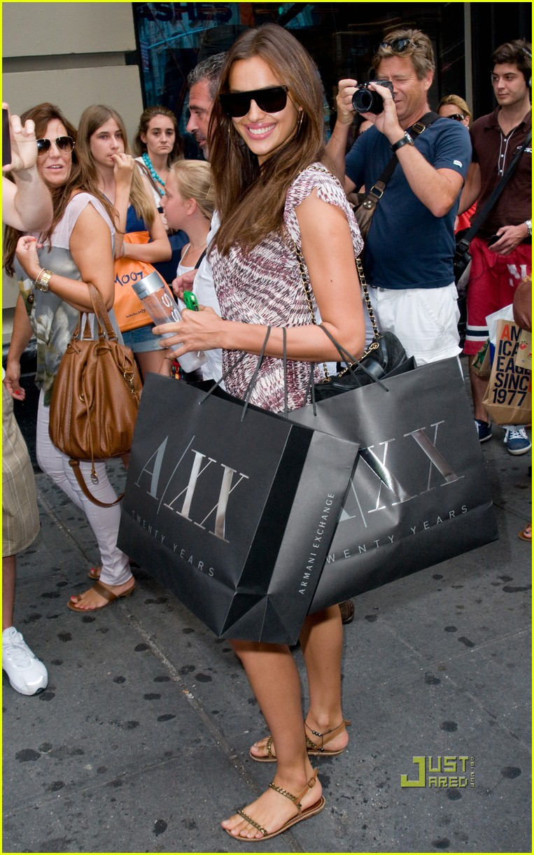 irina shayk working out shopping 10