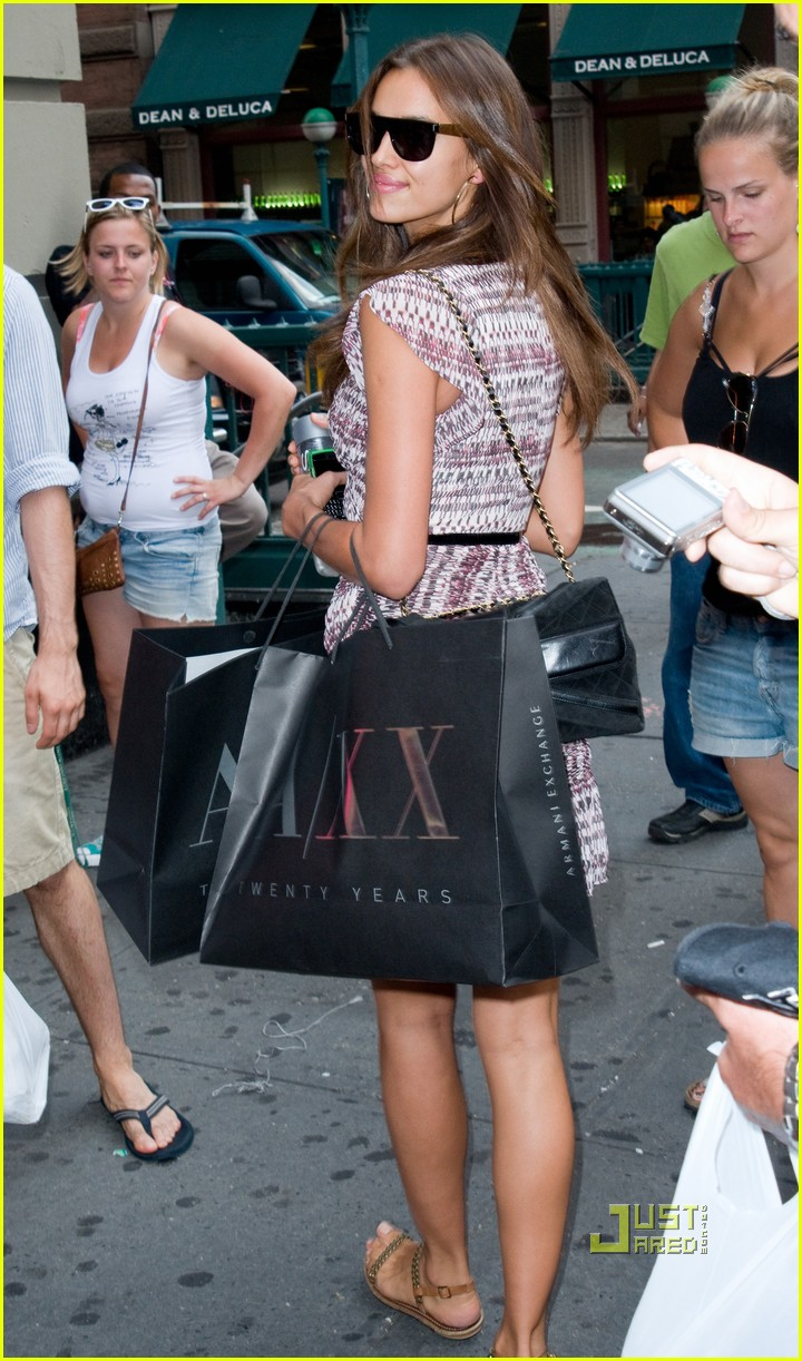 irina shayk working out shopping 11