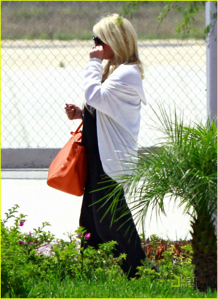jessica simpson eric johnson jet la 022573298