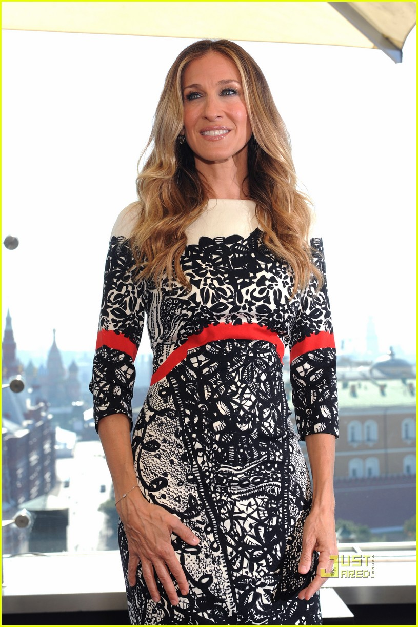 sarah jessica parker dont know how she does it russia 09