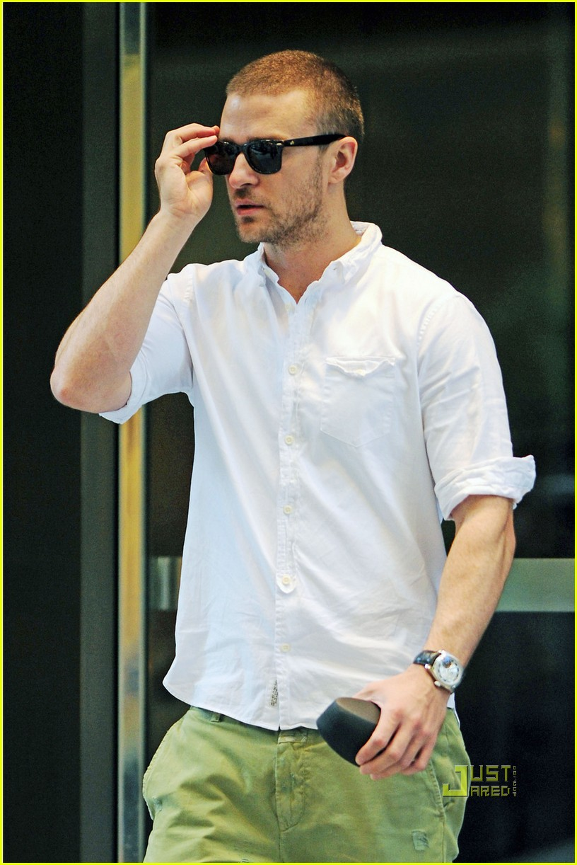 justin timberlake office building meeting 02
