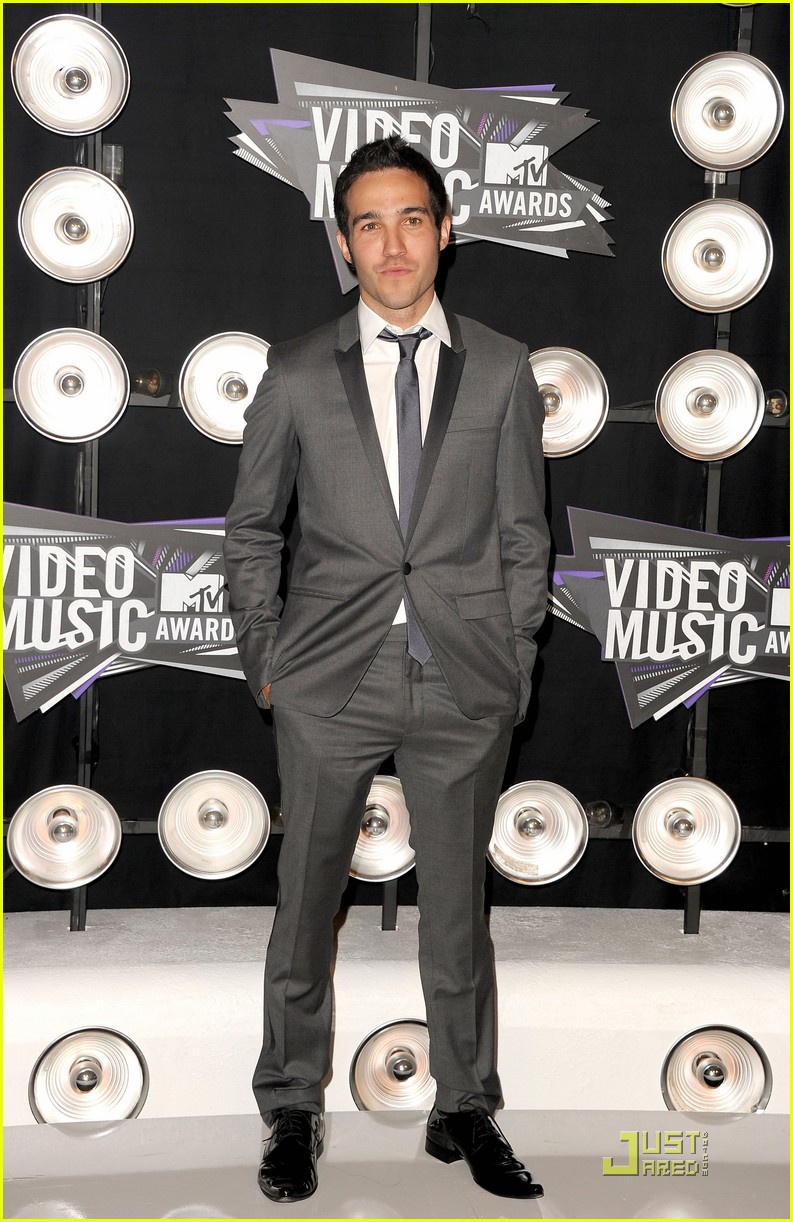pete wentz gabe saporta 2011 mtv vmas 12
