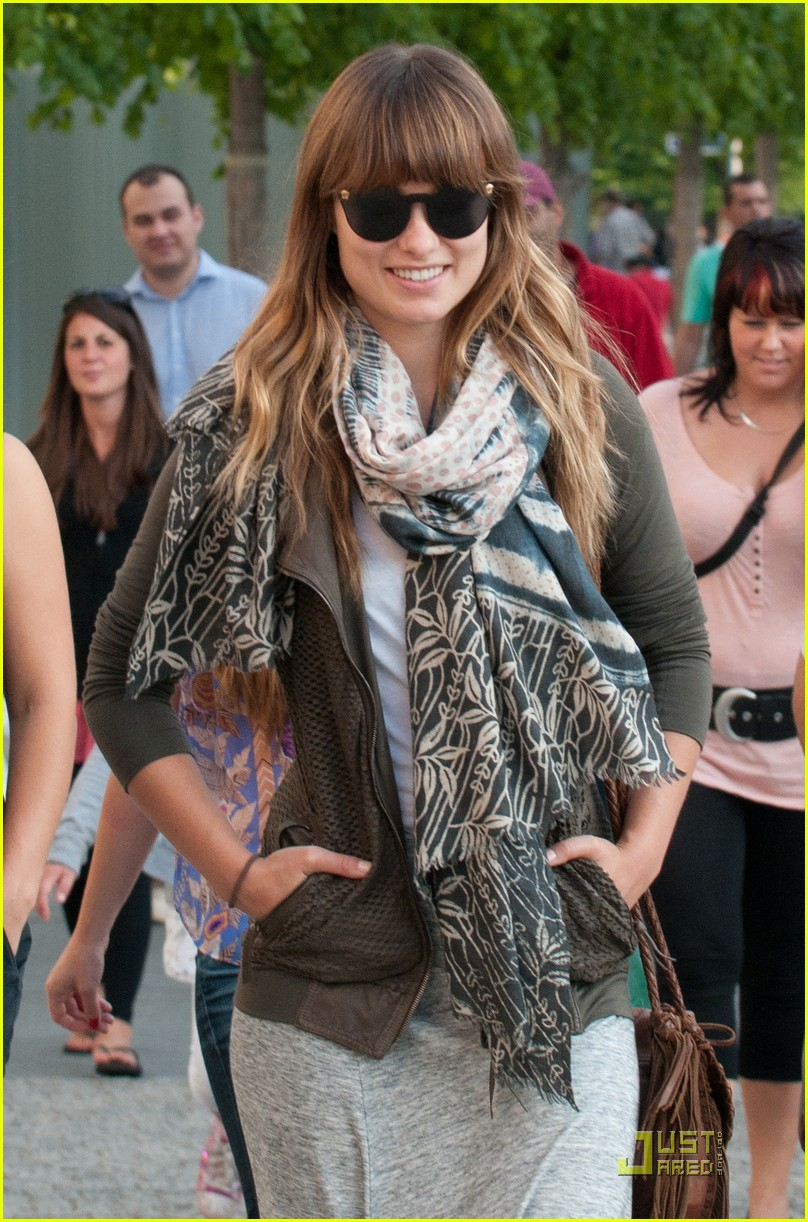 olivia wilde sightseeing berlin 012568149